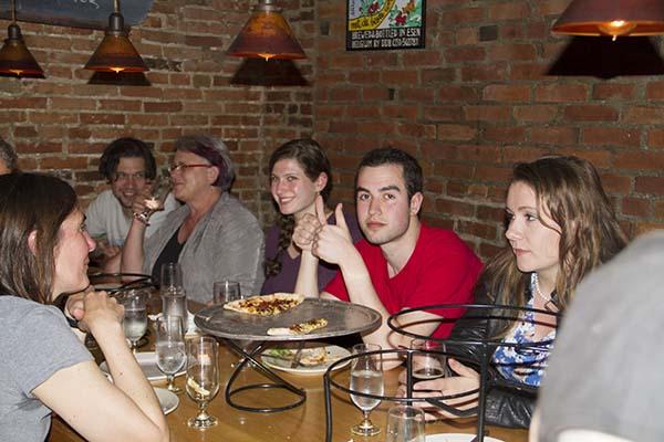 2014 FTS Senior Dinner at American Flatbread