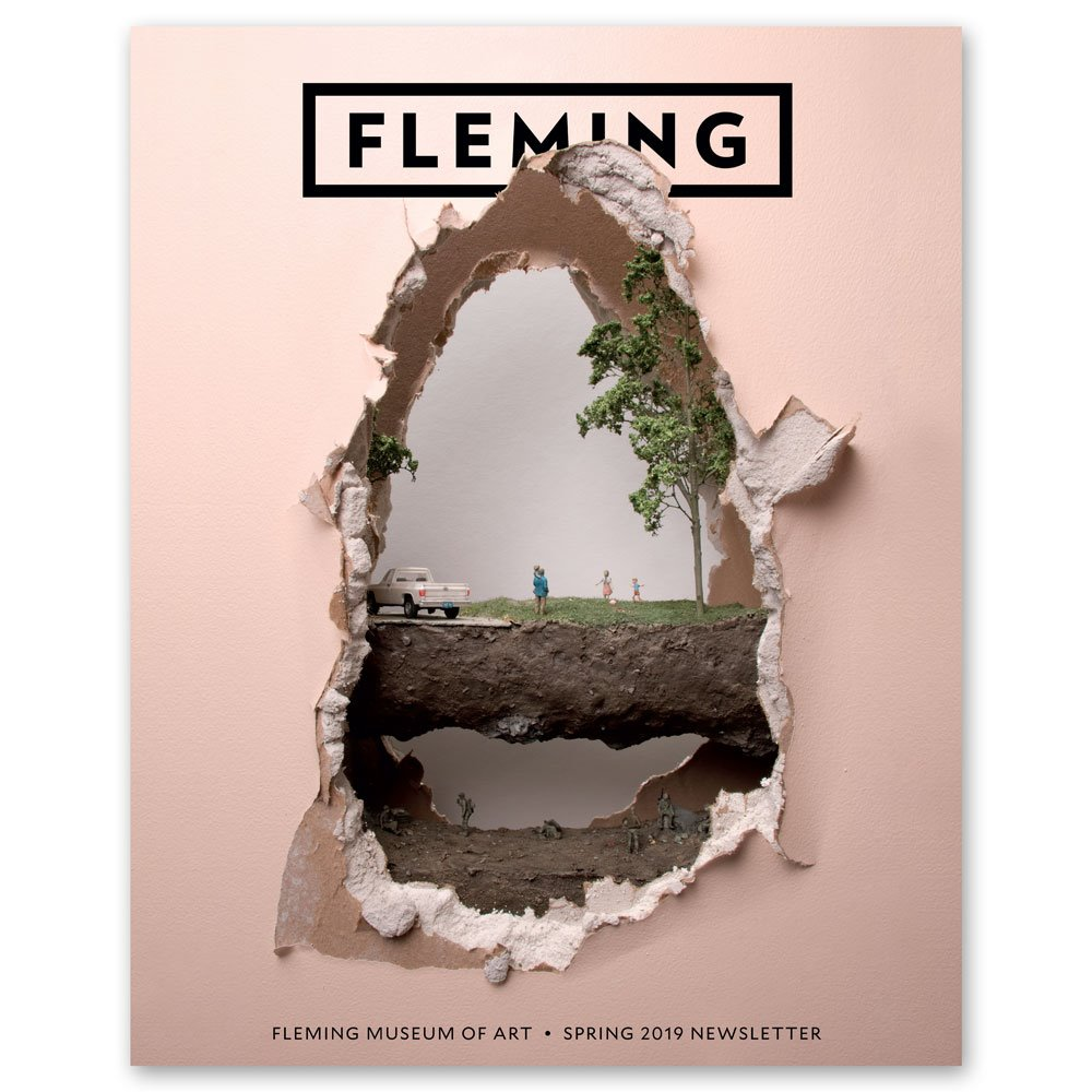 The Fleming Museum's Spring 2019 newsletter