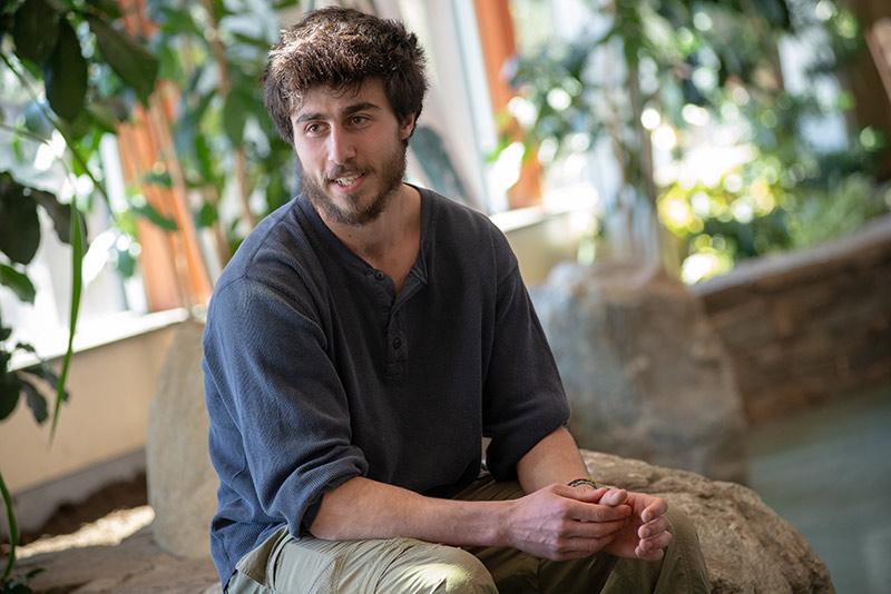 Student Lucas Beck
