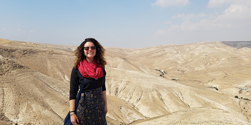 Claire Dumont in Madaba Governorate, Jordan