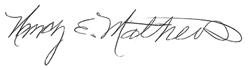 Nancy E. Mathews