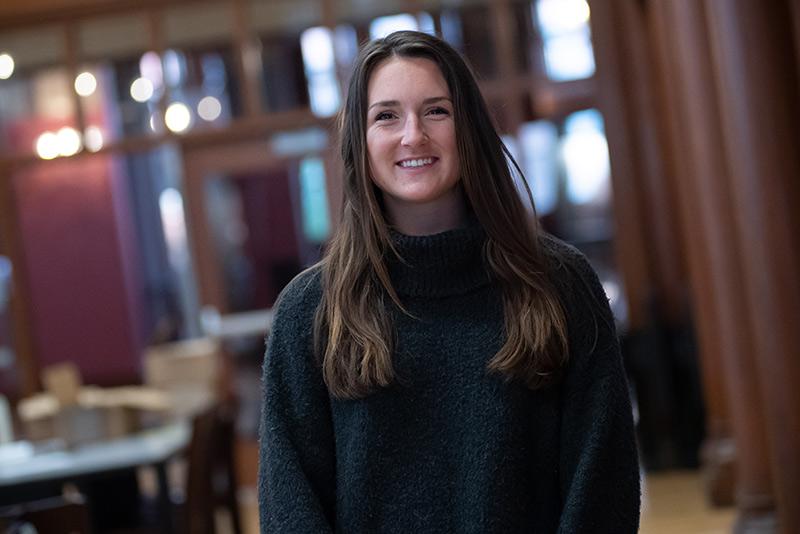 UVM student Julia Coleman