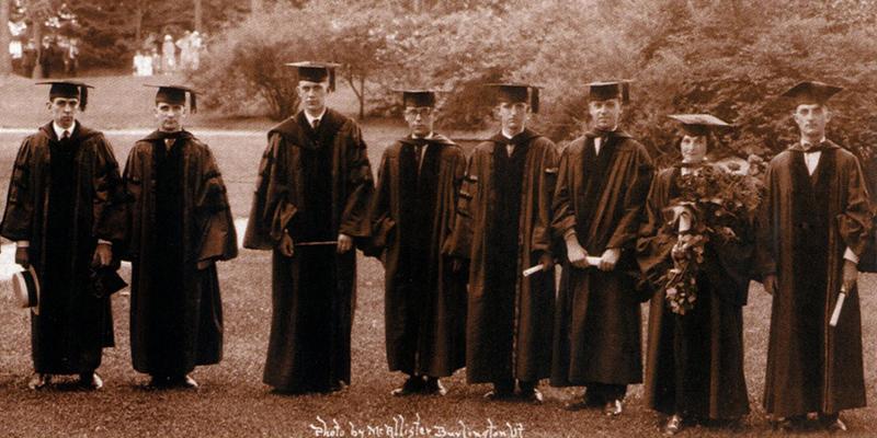 Dorothy Lang and classmates