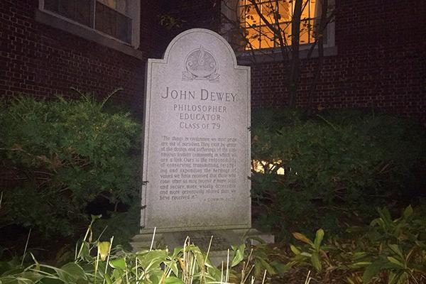John Dewey grave
