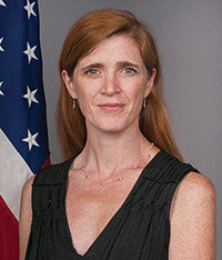 U.N. Ambassador Samantha Power