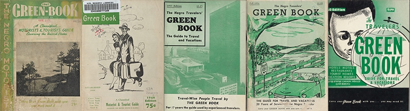 Green Book covers