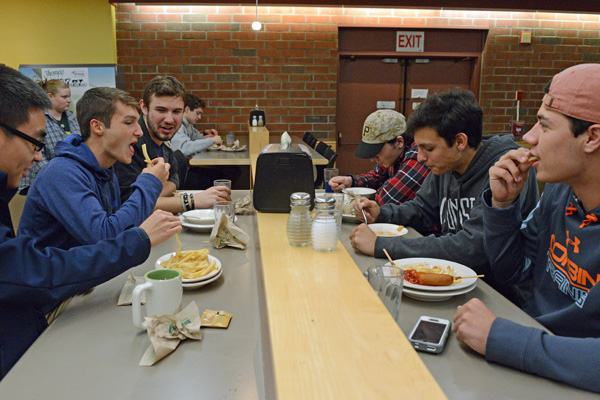 Harris/Millis dining hall