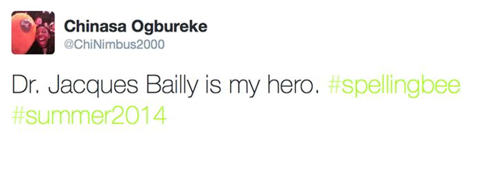 hero tweet