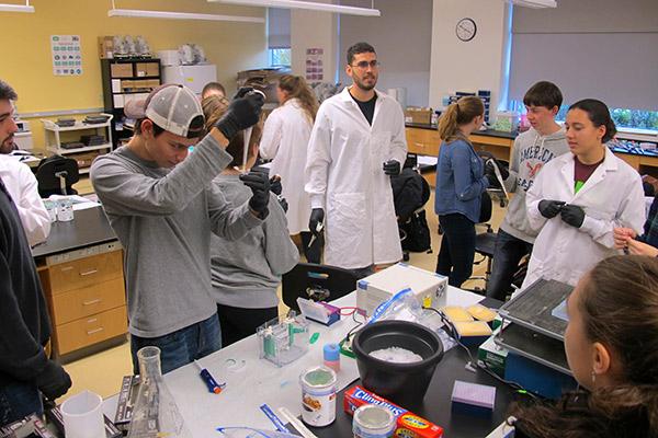 lab shot