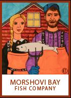 Morshovi Bay fish company logo