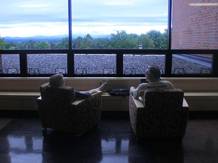 parents resting