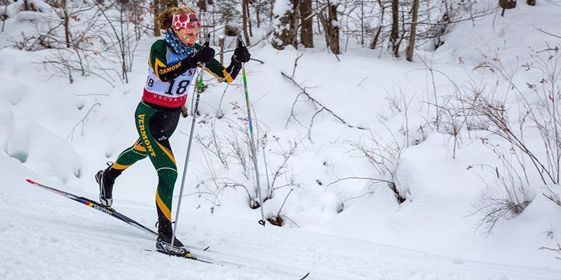 Sophie John Nordic skiing.