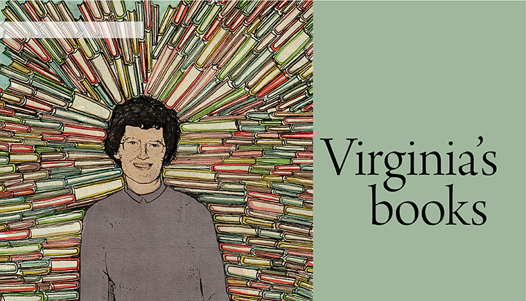 Virginia Clark and her books